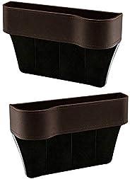 Car Organizer Seat Carriage Bag PU Case Pocket Multifunctional Storage Box Beige&