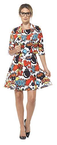 (Smiffys 45953S - Comic-Anzug mit Jacke und Kleid)