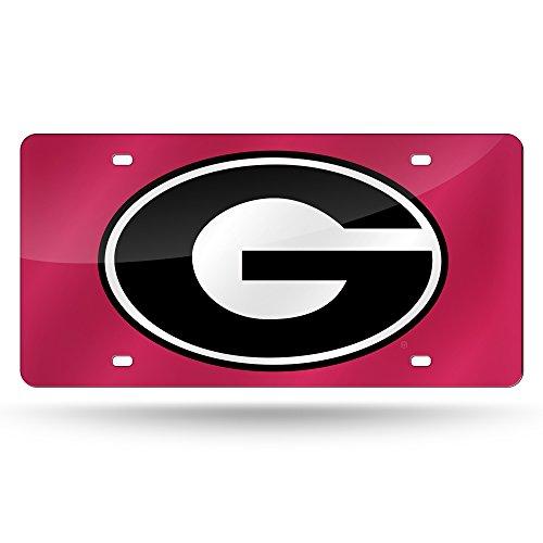 Unbekannt NCAA Laser geschnitten License Plate, LZC110101, Georgia Bulldogs Bulldogs