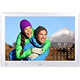 Cytem Diamine 15; Digital Photo Frame 38.1 cm (15 inch 4:3 format); Matte LED Display; HD Video (720p), Silver