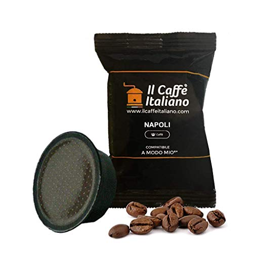 100 cápsulas de café Lavazza compatibles A modo mio - Mezcla Napoli - Il caffè italiano - FRHOME