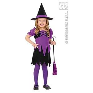 """Widmann 2011W Disfraz """"Bruja violeta"""" para niños, tamaños 104/110"""