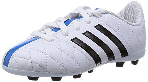 adidas Performance  11 Questra FxG J, Chaussures de Football Compétition garçon Blanc - WeiÃY (FTWR White/Core Black/Solar Blue2 S14)