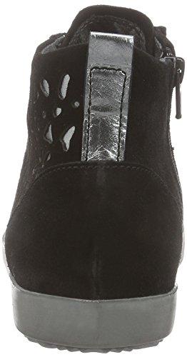 Tamaris Damen 25220 High-Top Schwarz (BLACK/PEWTER 099)