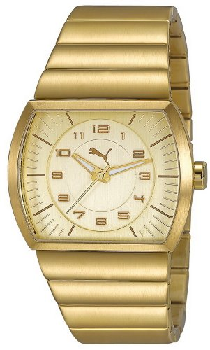 Puma Time Women's Quartz Watch Journey Metal Gold PU102512003 with Metal Strap