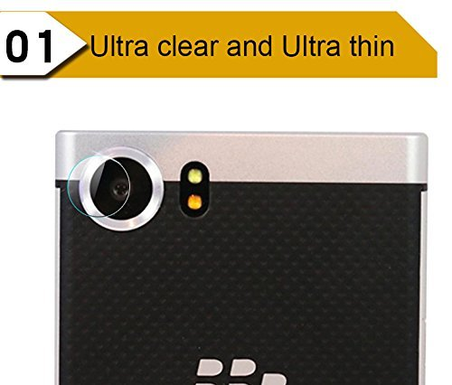 MM King 1X Ultra Clear Camera Protector Lens Tempered Glass Cover For BlackBerry KEYone