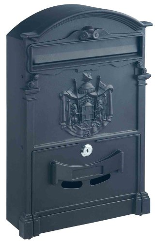 rottner-ashford-traditional-style-post-box-with-regal-crest-anthracite