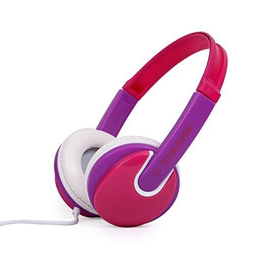 Sonixx cuffie per bambini con limitazione del volume (rosa)