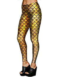 6a7972d97ddc9 Belsen Women's Mermaid Tail elasticity Leggings Pencil Pants