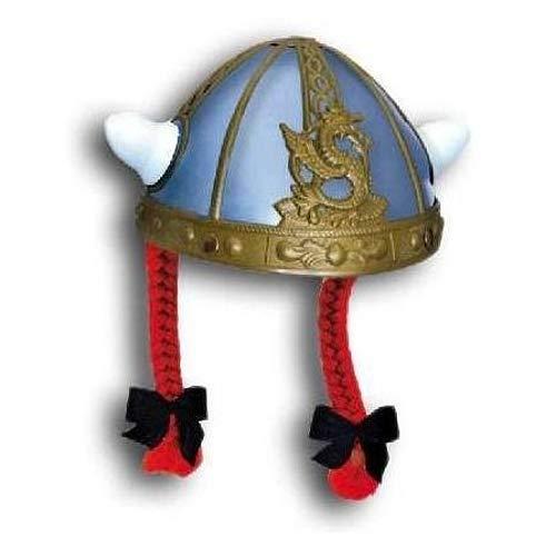 Unbekannt GIPLAM 19x 13cm Französische Helm mit Zöpfen (One Size)