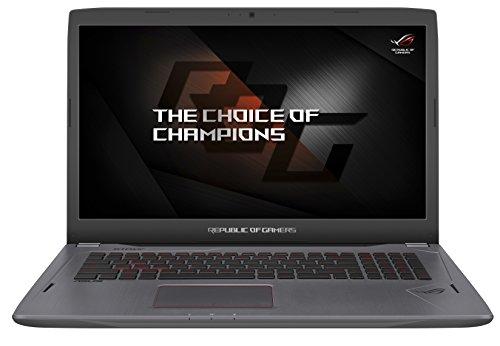 "Asus ROG GL702VM-BA135T Notebook, Display da 17.3"", Processore Intel i7-7700HQ, 2.8 GHz, SSD da 256 MB e HDD da 1024 GB, 16 GB di RAM, Scheda Grafica nVidia Geforce GTX 1060, 6 GB"