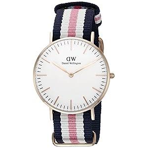 Daniel Wellington Women's Quartz Watch Classic Southampton Lady 0506DW with Nylon Strap