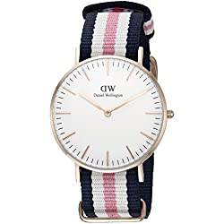 Daniel Wellington Women's Quartz Watch Classic Southampton Lady 0506DW with Nylon Strap