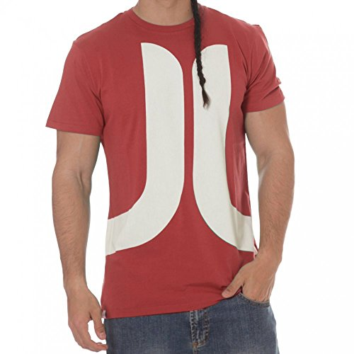 WeSC Biggest Icon Tee men's candy apple – talla L