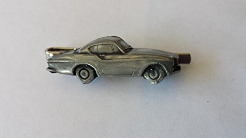 volvo-p-1800s-ref279-pewter-effect-emblem-on-a-tie-clip-slide-handmade-in-sheffield-comes-with-pride