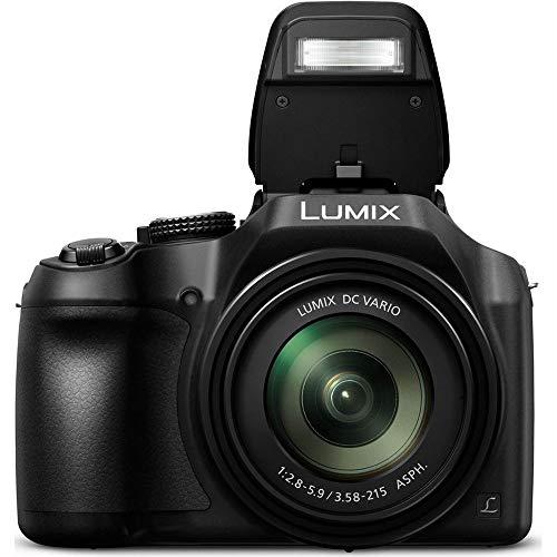 Panasonic Lumix DC-FZ82 Bridgekamera 18,1 MP 1/2,3' MOS 4896 x 3672 Pixel, schwarz - Digitalkameras (18,1 MP, 4896 x 3672 Pixel, MOS, 60x, 4K Ultra HD, schwarz)