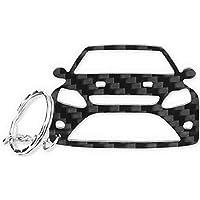 Ford Focus MK2 RS Carbon llavero en calidad premium – Tuning accesorios para llaves Carcasa/
