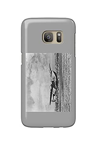 Boeing 314 China Clipper Over Water Airplane Photograph (Galaxy S7 Cell Phone Case, Slim Barely There)
