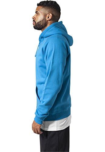Urban Classics Herren Kapuzenpullover Zip Hoody Turquoise
