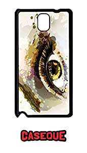 Caseque Eye Art Back Shell Case Cover for Samsung Galaxy Note 3