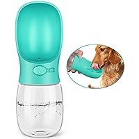 Pedy Hunde Flasche,Haustier Flasche,Haustier-Reise-Wasserflasche mit ABS Nahrungsmittelgrad,350ml
