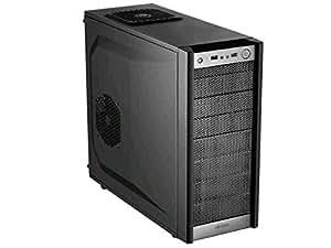 Antec One - computer cases (Midi-Tower, PC, ATX, Micro-ATX, Mini-ITX, Black, 1x 120 mm, 1x 120 mm)