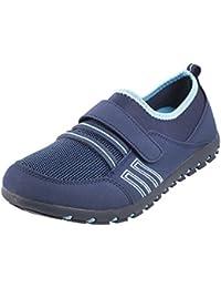 MOCHI Women BLUE/NAVY Synthetic Walking Shoes (36-8015)