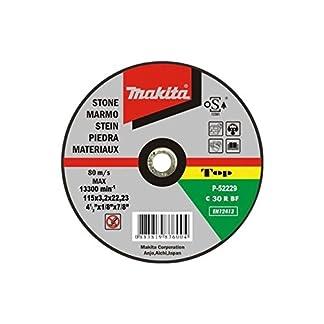 Makita P-52205 – Disco de corte piedra 115mm x 3.2mm