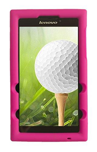 BobjGear Carcasa Resistente para Tablet Lenovo Tab 2 A7-20, Tab 2 A7-10 - Bobj Funda Protectora (Rosa)