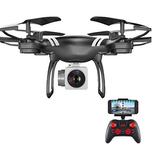 wuyiti Auto Rückkehr Quadcopter Fernbedienung Hubschrauber WiFi Vierachsige Echtzeit-Drohne Helikopter Quadrocopter