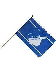 Stockflagge TSG 1899 Hoffenheim - 30 x 45 cm + gratis Aufkleber, Flaggenfritze®