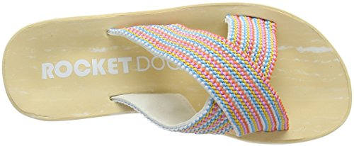 Rocket Dog Damen Moon Plateausandalen Multicolour (Bubble Gum)