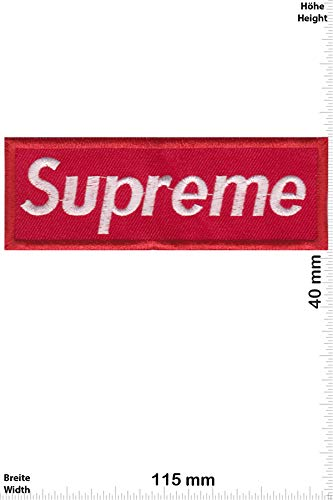 Patch Parches - Supreme Red/White - Softpatch - Cool