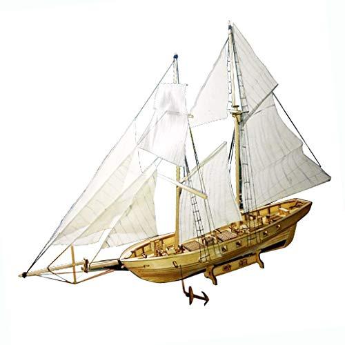 KESOTO 1:30 Maßstab Holz 3D DIY Boot Schiff Modell Bausatz