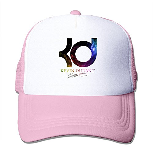 YSC-Dier Custom Unisex Snapback KD #35 Basketball Player Sporting Hats Black Pink (Hats Kd)