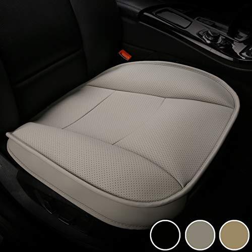 Luollove coprisedile auto universale anteriori, super soft confortevole traspirante pu protezione per sedile auto (1 pezzo grigio)