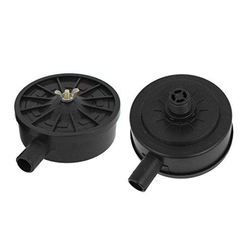 2pcs-air-compressor-repair-part-20mm-thread-silencer-muffler-black