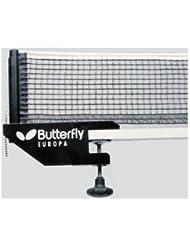 Butterfly Europa Table Tennis Net & Post Set 11301