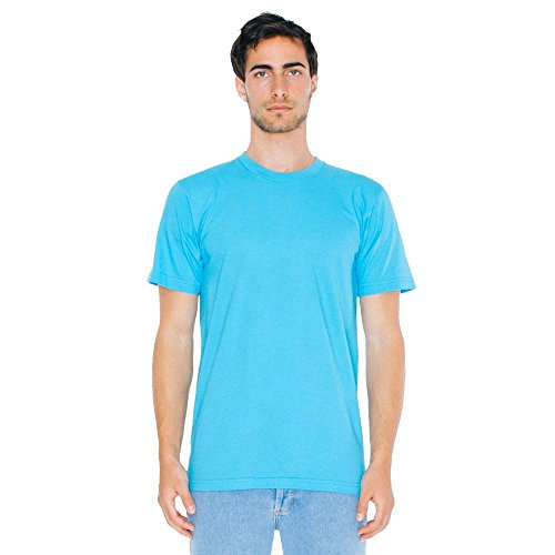 American Apparel - Unisex Fine Jersey T-Shirt Turquoise