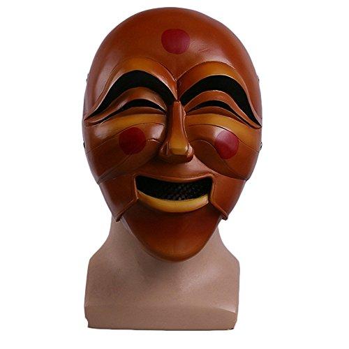 nihiug Watch Pioneer Anna Cos Maske Fluss Zurück Masked Game Halloween Maske ()