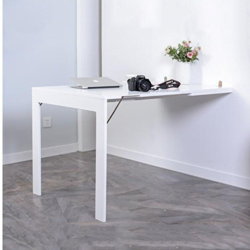 Zr tavolo da parete pieghevole tavolo pieghevole da tavolo pieghevole contro il muro scrivania - Tavolo da muro pieghevole ...