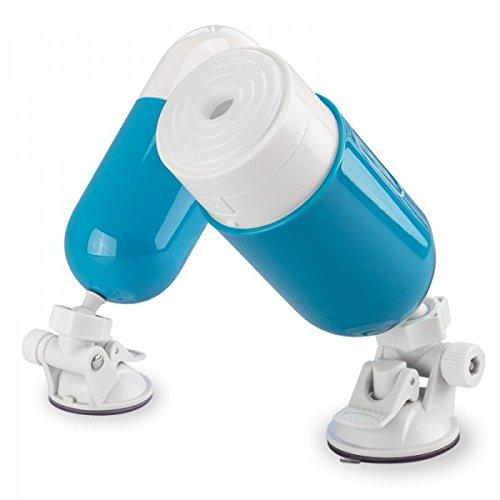 Masturbator Blue Cup mit Saugfuß