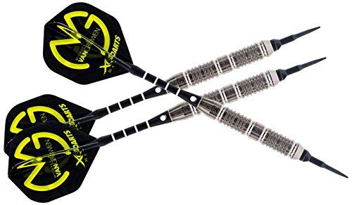 *Embassy Sporthandel QD70000640 Michael Van Gerwen Brass Soft Dart, Tungsten, 18 g*