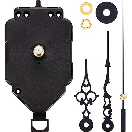 Hicarer Pendeluhr Bewegung Quarz DIY Bewegung Kits Ersatz Pendeluhr Bewegungsmechanismus - Uhrwerk-ersatz-kit
