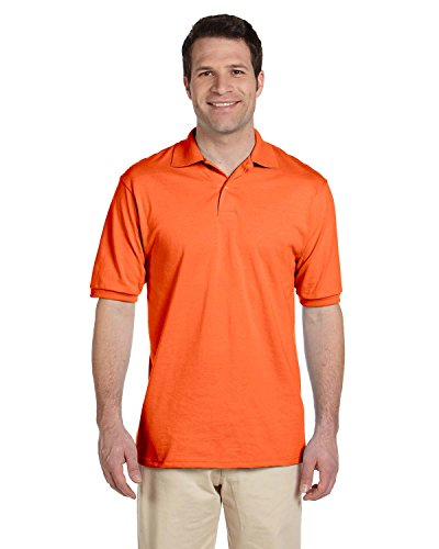 Adult 5.6 oz., SpotShield� Jersey Polo SAFETY ORANGE 5XL (Polo Jersey Adult Jerzees)