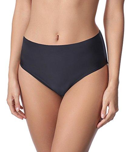 Merry Style Damen Bikini Unterteil M72W (Schwarz (9240), 46)