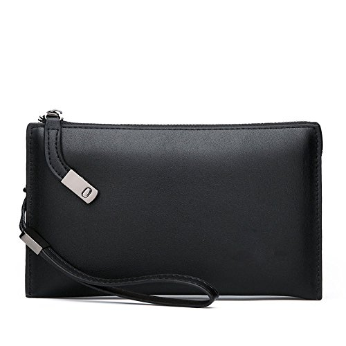 Hommes Portefeuille Business Casual Pochette Sac Grande...