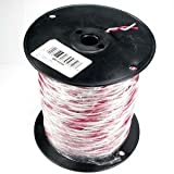 InstallerParts 500Ft 18/2 Solid Red/White Bell Wire by InstallerParts