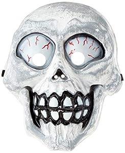 Rubies- Máscara Esqueleto Loco,, Talla única (S5149)
