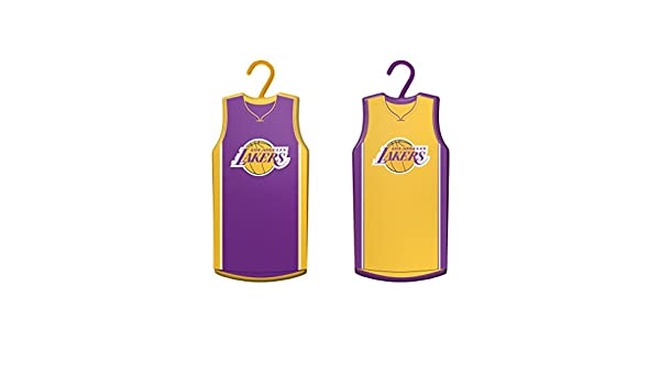 Buy Boelter Brands NBA Los Angeles Lakers Home   Away Jersey Ornament 7b447e238